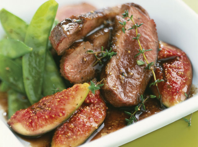 Filets de canard aux figues