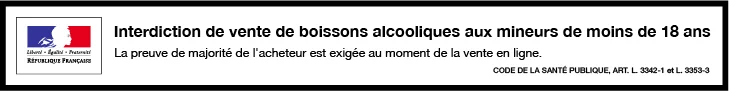 Interdiction de vente de boissons aux mineurs