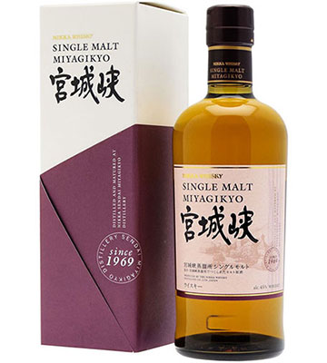 Miyagikyo Single Malt - 45%
